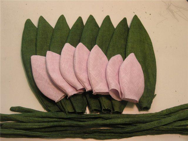 МК Тюльпаны из ткани своими руками от Умницы - Форум