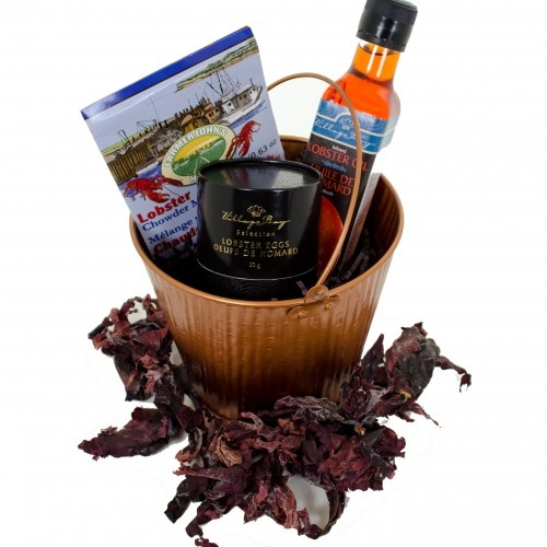 Fisherman's Treat - Atlantic Canada Delicacies! Lobster Oil, Caviar, and Lobster Chowder Mix. Available for order at www.BeenThereGifts.com