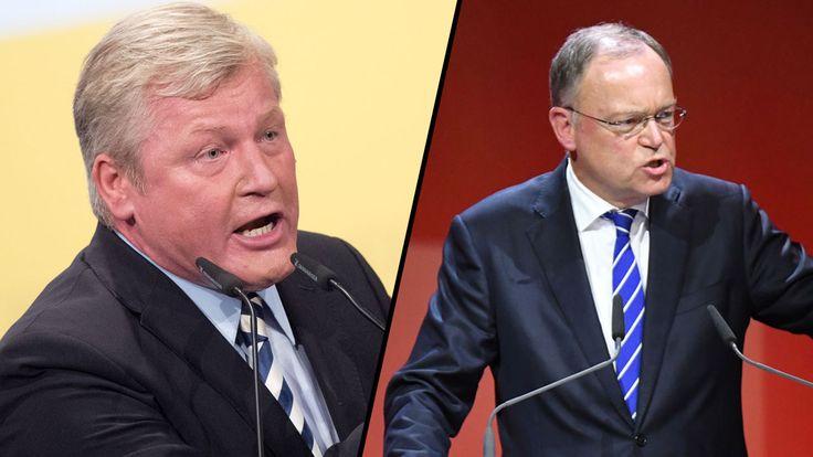 Niedersachsen-Wahl - So lief das Krawall-Duell - Politik Inland - Bild.de