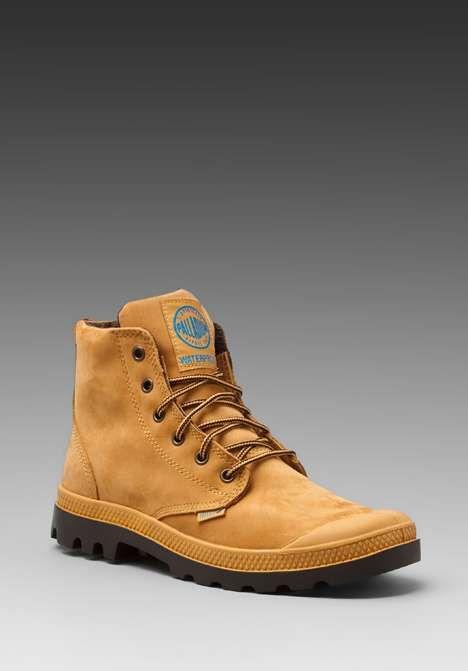Love the Palladium Waterproof Pampa Hi on Wantering | $77 | sale price | Boxing Week for Him | mens waterproof boots | menswear | mens shoes | mens fashion | mens style | wantering http://www.wantering.com/mens-clothing-item/waterproof-pampa-hi/adZuZ/