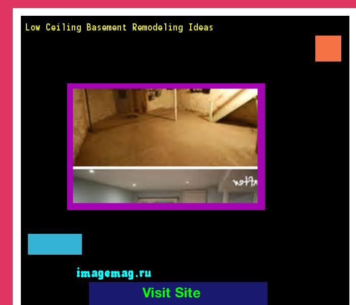 Low Ceiling Basement Remodeling Ideas 074027 - The Best Image Search