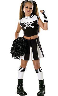 Girls Bad Spirit Cheerleader Costume