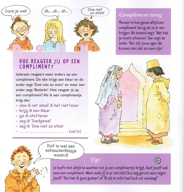 Hoe reageer jij op een compliment? Uit het boek: Eerst jij, dan ik! Hoe hoort het thuis, op straat en op school? (etiquette voor kinderen) #etiquette