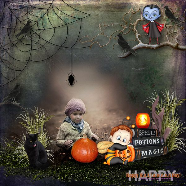 """""""One scary day"""" by Black Lady Designs"""
