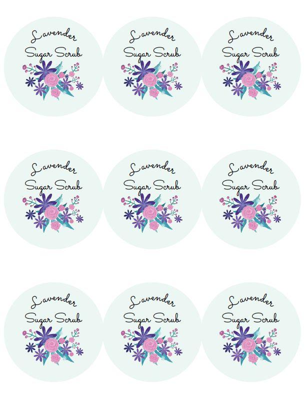 Lavender Sugar Scrub Recipe and Printable Labels | 11 Magnolia Lane