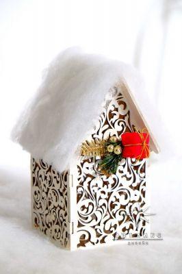 Подарок на новый год. Новогодний сувенир домик светильник. Цена 2100 ք  Арт: 77703