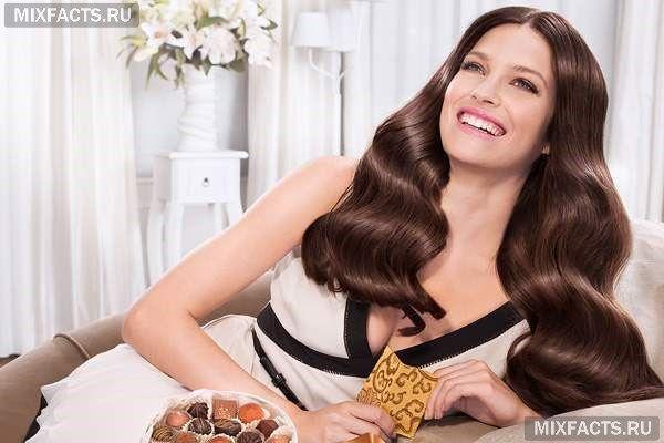 модные оттенки коричневого цвета волос