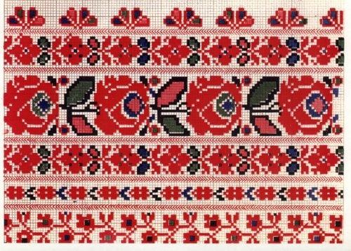 Ukranian embroidery chart.