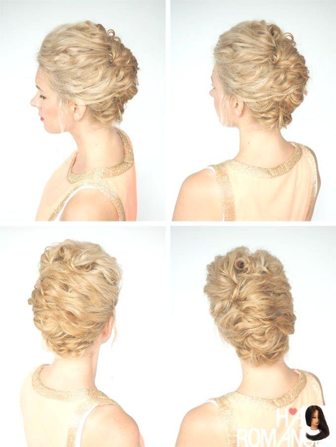 #curly Hairstyle #Frisuren #Lockige #Tag #Tagen 30 Curly Hairstyles in 30 Days - Day 19        Ich liebe diese schnelle Hochsteckfrisur für lockiges ...