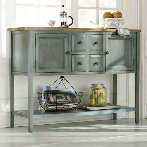 Found it at Wayfair - Charlotte Shag 2 Door Console Table