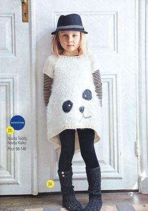 Детские вещи могут быть не только яркими, но и стильными. Рассматривая модные подиумы, можно наметить несколько интересных идей для своего вязания.