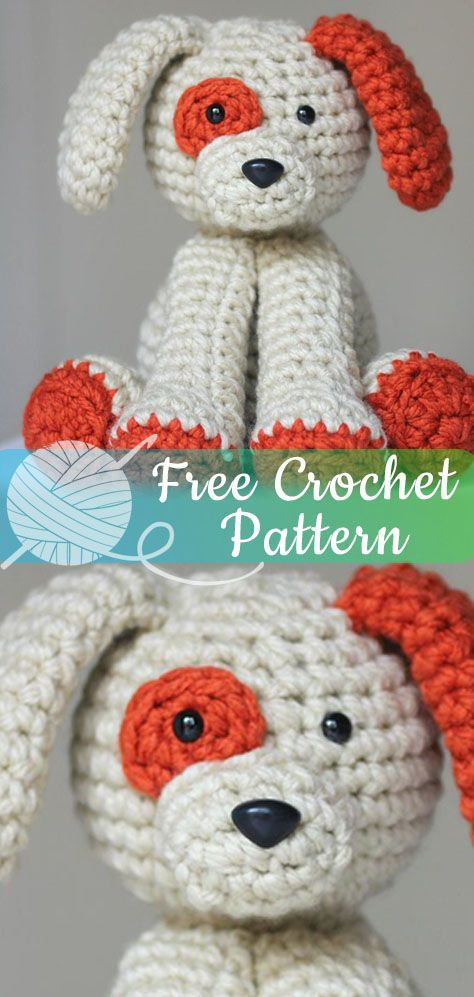 Crochet Plush Puppy [CROCHET FREE PATTERNS] #amigurumi ...