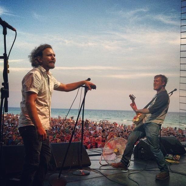 Eddie Vedder and The Gaslight Anthem