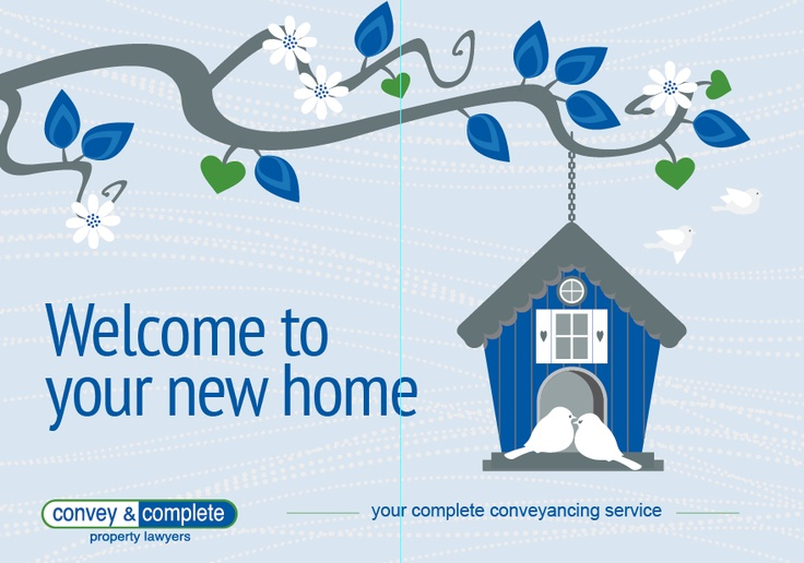 Welcome to new home card designed for Convey & Complete