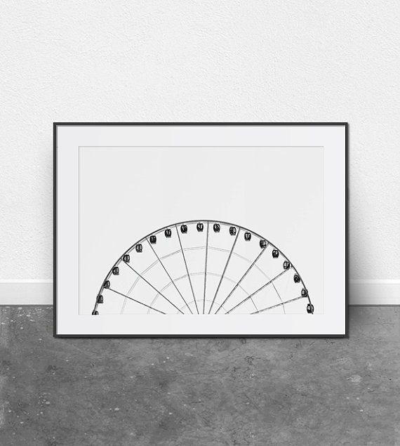 Reuzenrad architecturale Print afdrukbare door ThePrintableStudio