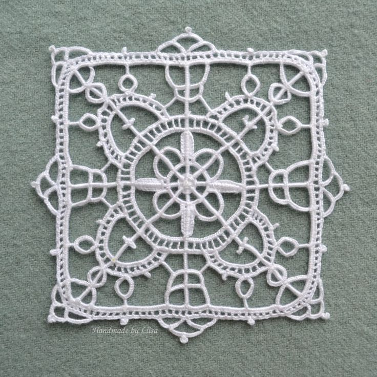 I am absolutely fascinated by lace! After acquiring some more books on the subject, I had to try my hand at reticella, a needle lace that dates back to the 16th century. You know – huge, opul…