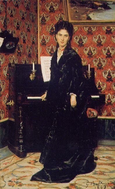 Giovanni Boldini, Ritratto di Mary Donegan, 1869. Istituto Matteucci, Viareggio.