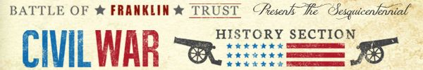 GREGORY WADE: For all the early battles, nothing match November 1864 - Franklin Home Page