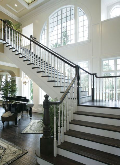 Great Hall Of Award Winning Luxury Estate House Plan No