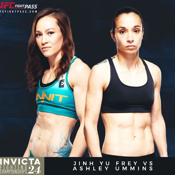 """Looking forward to this #fight between Jinh Yu Frey @jinhyufrey and Ashley """"Smashley"""" Cummins @smashleymma at #InvictaFC24. This should be a great bout who do you think will win?  Don't miss this and all the fights on the card at Invicta FC 24 Saturday 7/15 at 8pm ET on UFC Fight Pass.  For the latest #MMA news make sure to follow me: http://ift.tt/1FVexze  http://ift.tt/2u6BTqc http://ift.tt/2v5ztp8  #Invicta #InvictaFC #WMMA #mixedmartialarts #DudievavsBorella #BorellavsDudieva…"""