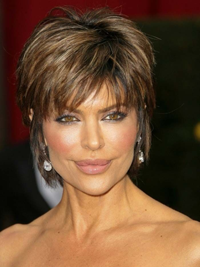 Short Hairstyles For Older Women Haircuts Short Hairstyles For