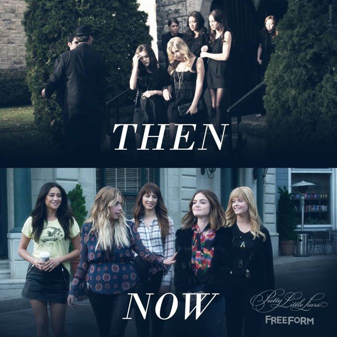 From the beginning of a chapter, to the conclusion of a story. #PrettyLittleLiars