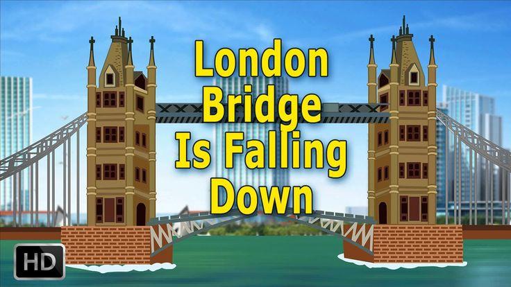 London Bridge Is Falling Down Nursery Rhymes with Lyrics | Popular Baby ...