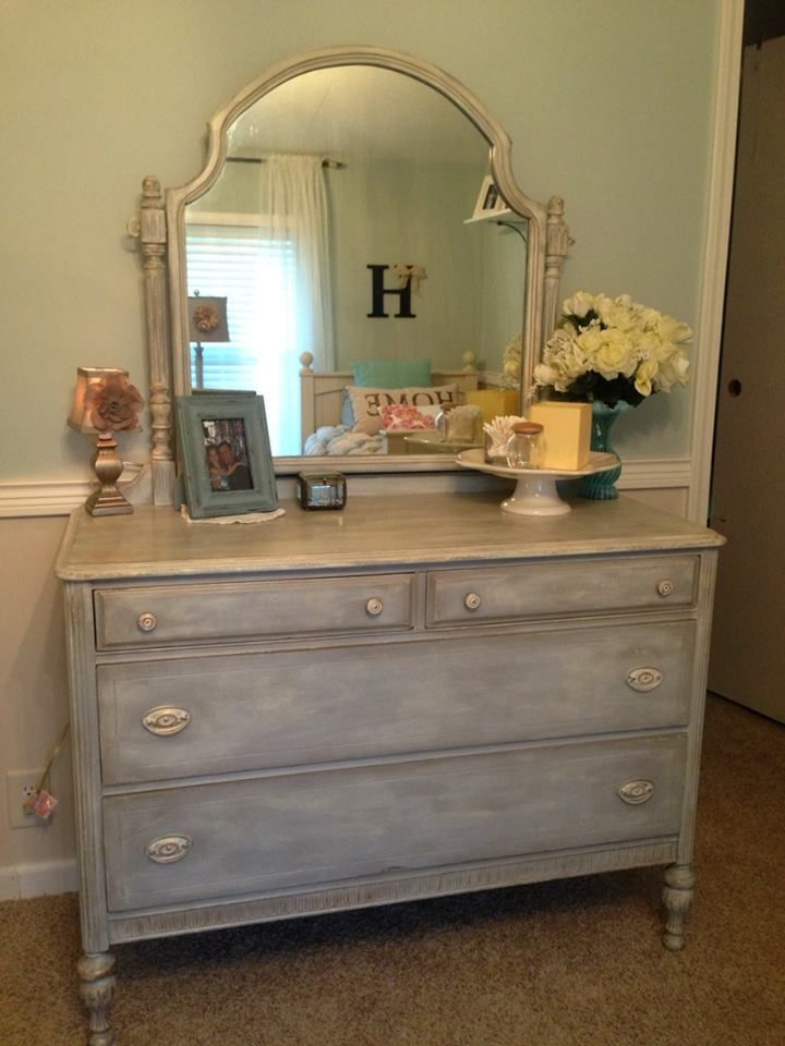 My First Annie Sloan Chalk Paint Makeover As Paris Gray W