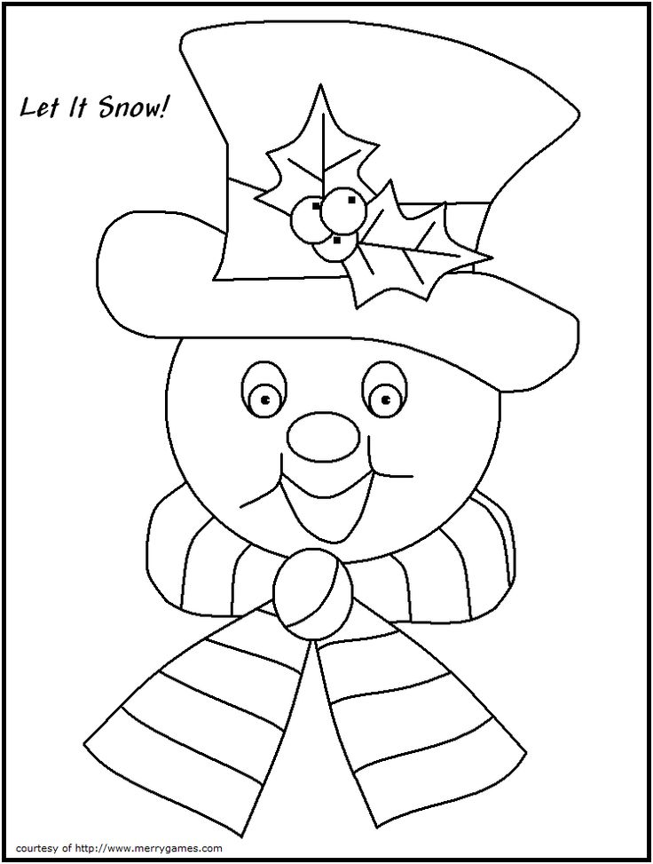 15 best Coloring pages images on Pinterest Christmas colors - new christmas coloring pages for preschoolers printable