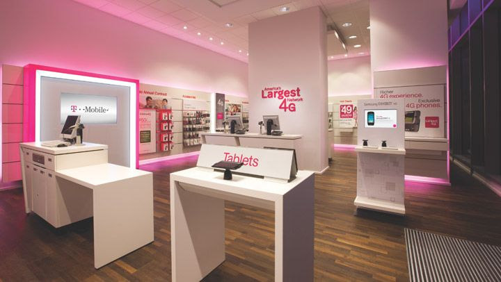Store Interior - Retail Design - T-Mobile - Our Work - Wong, Doody, Crandall, Wiener