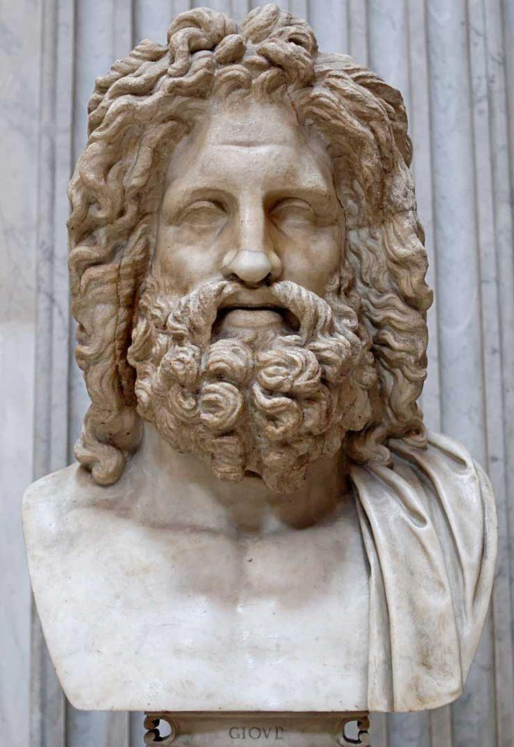 Zeus (Jupiter) - Greek God - King of the Gods and men. | Greek Mythology Pantheon