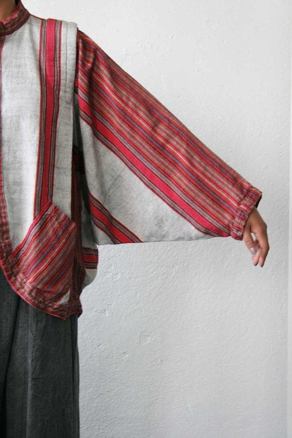 Blouse Lurik or Ikat Combination