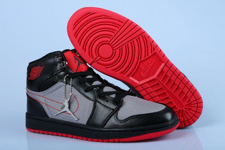 http://www.okjordans.com/air-jordan-1-high-black-grey-red-p-832.html Only$76.06 AIR JORDAN 1 HIGH BLACK GREY RED Free Shipping!