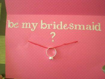 Wedding, Pink, Silver, Bridesmaid, Card, Inspiration board