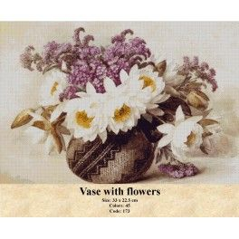 Gobelin Tapestry Kit - Vase with Flowers