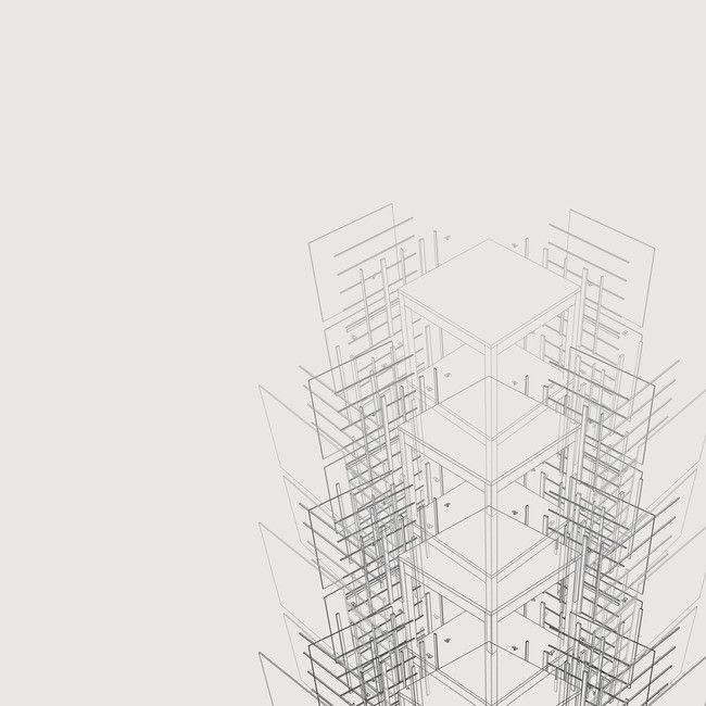 Revistas De Arquitectura Minimalista Fondo Gris Creativo ...