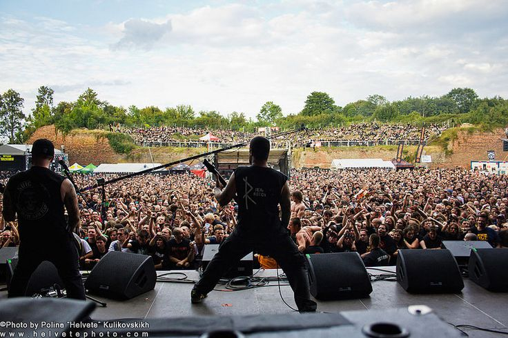 Hatebreed at Brutal Assault 2012