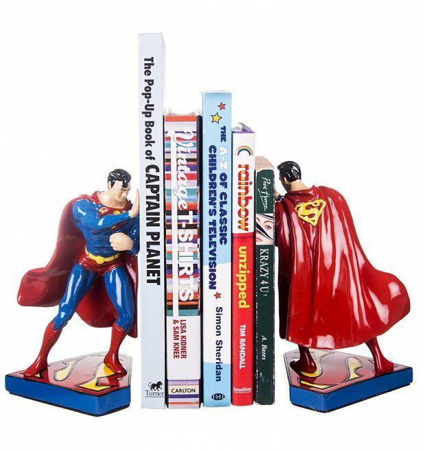 DC Comics Superman Figure Bookends