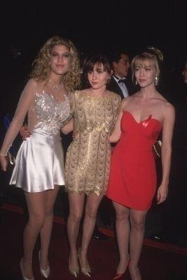 Tori Spelling, Shannen Doherty and Jennie Garth