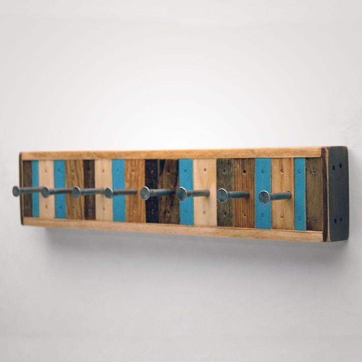 Longe Pallet Wood Key/Jewelry Rack