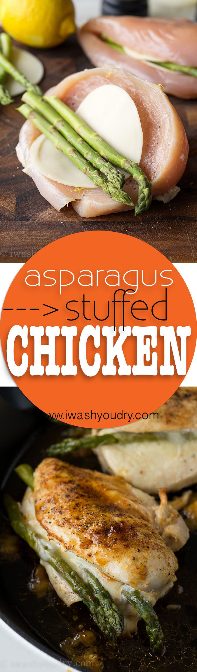 Asparagus Stuffed Chicken Breast