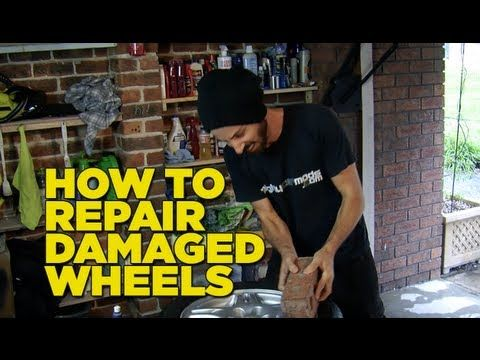 How To Repair Scratched & Guttered Wheels - YouTube