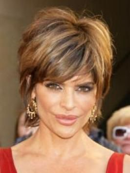 Why is Lisa Rinna always my hair idol? There has to be someone else with dark, thick, wavy hair.