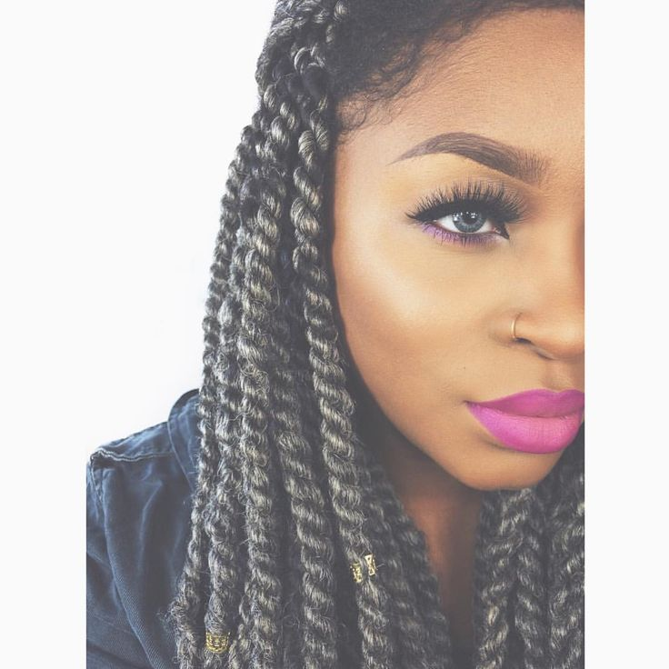 Make Your Own Crochet Box Braids : african braiding braiding hair hair braids dope braids style braids ...