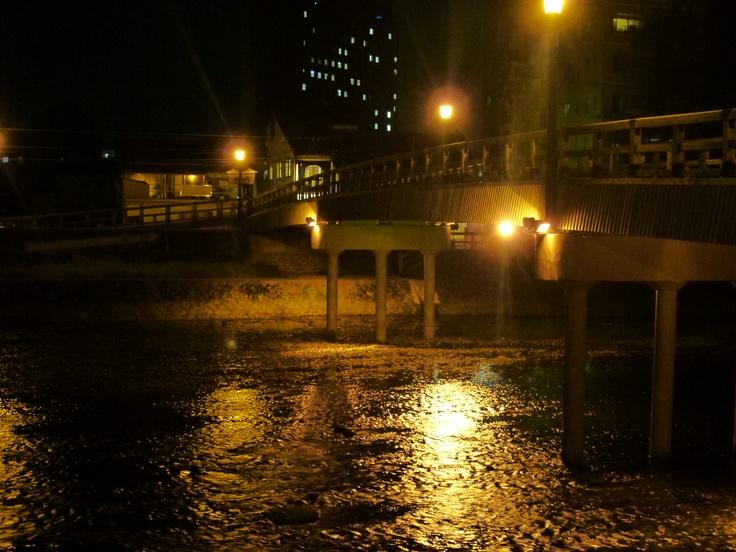金沢市浅野川梅の橋