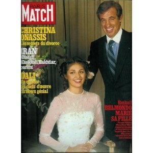Paris Match - n°1596 - 28/12/1979 - Jean-Paul Belmondo marie sa fille [magazine mis en vente par Presse-Mémoire]