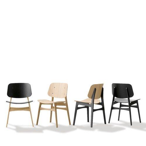 Söborg stol - Söborg stol - ek, ekstativ