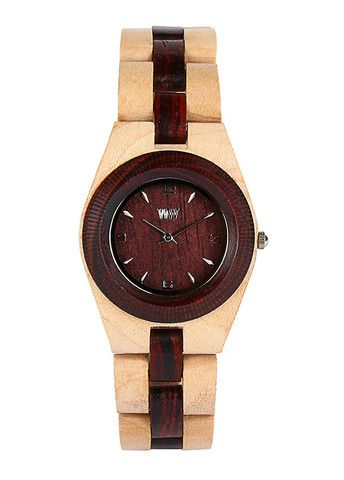 Beautiful eco friendly WeWood watch - the odyssey beige/brown is made  from 100% wood and features miyota movement. $120 | WeWood New Zealand.