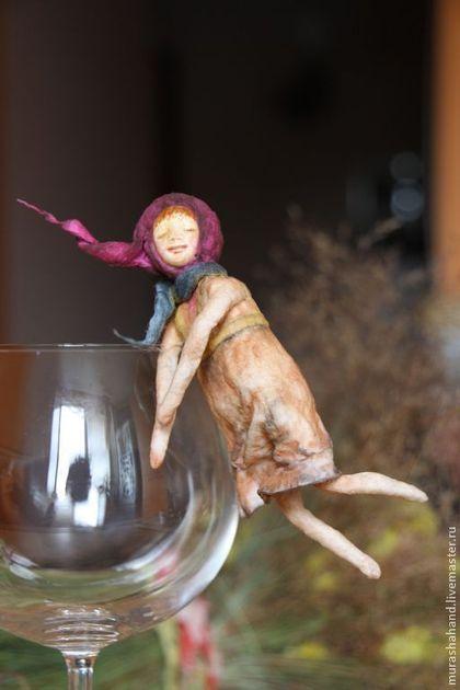 Первая из коллекции Dreams ( ватная игрушка) - ватная игрушка,новогодняя ватная игрушка