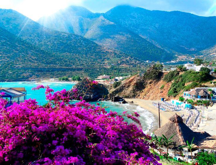 Чудесный поселок Бали, Крит.